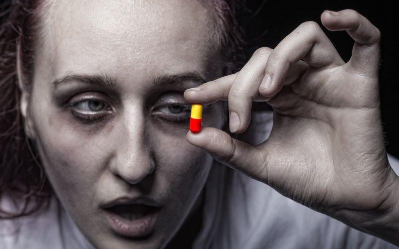 наркоманка